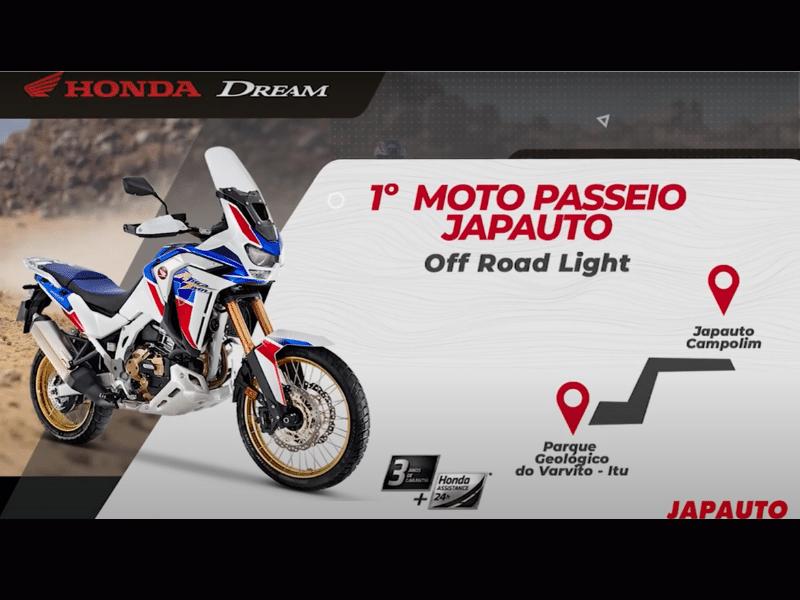1º Moto passeio Japauto: evento para ficar na história
